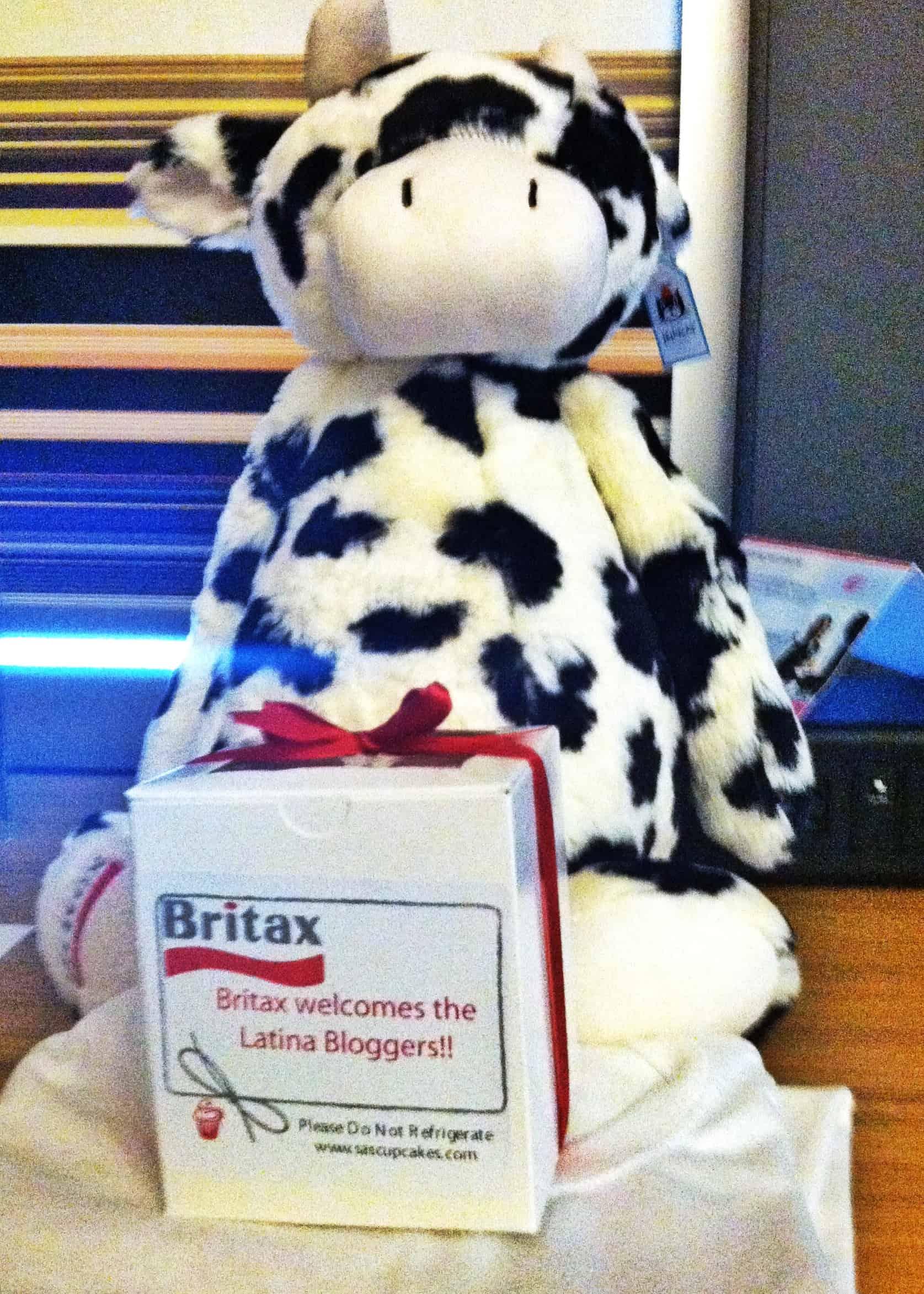 Britax Cow doll