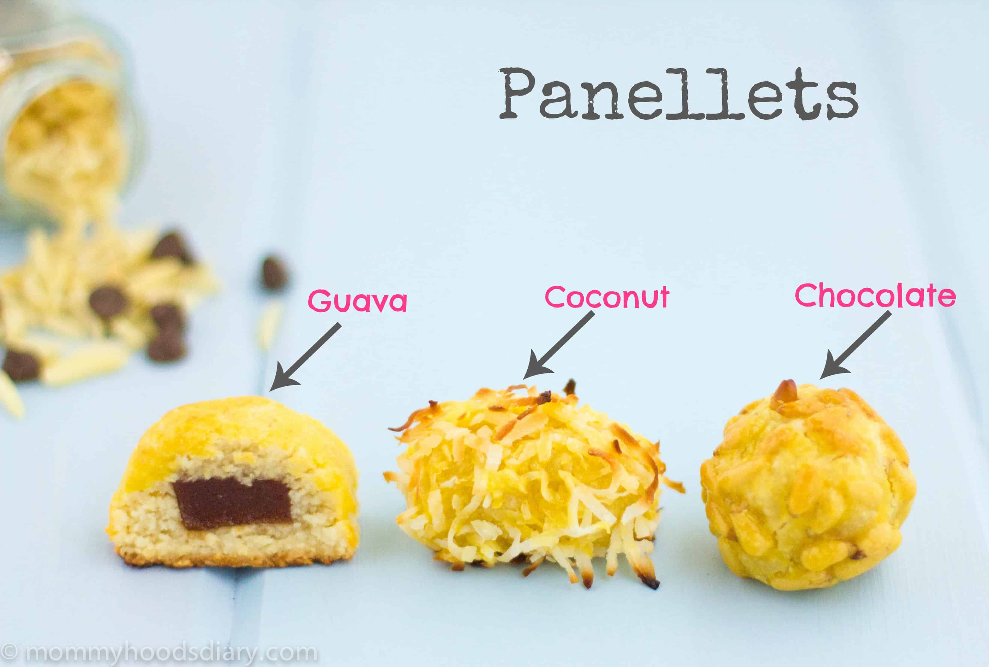 Panellets filling information