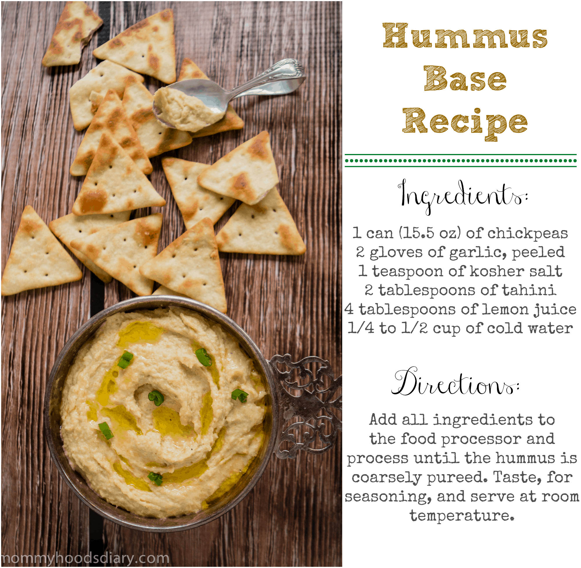 Hummus Base Recipe