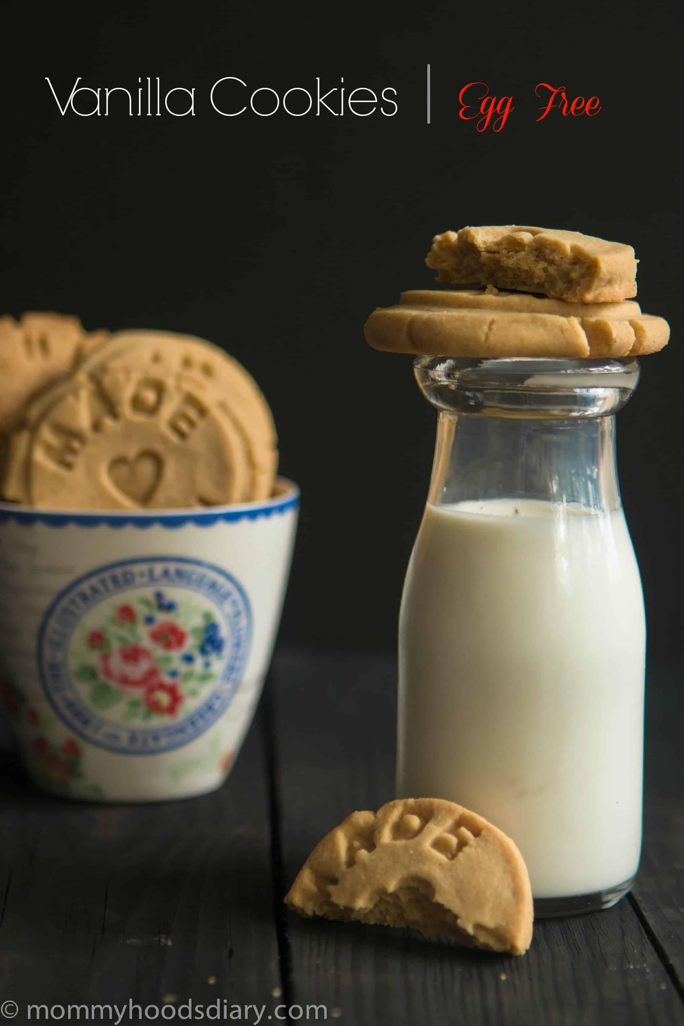 Vanilla Cookies Egg Free