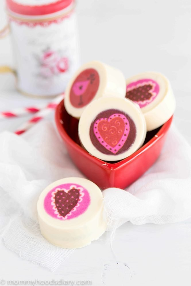 White Chocolate Covered Oreos-5
