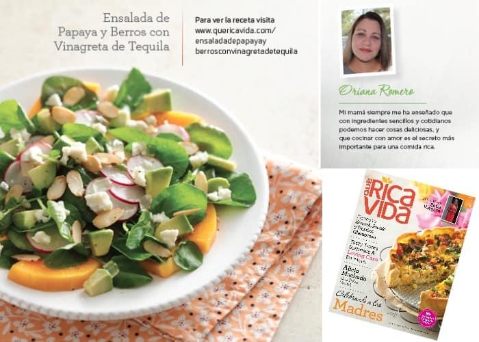 Papaya and Watercress Salad with Tequila Vinaigrette Recipe