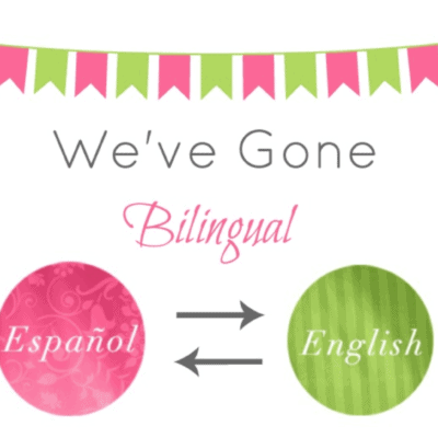 We Have Gone Bilingual!!! – Giveaway