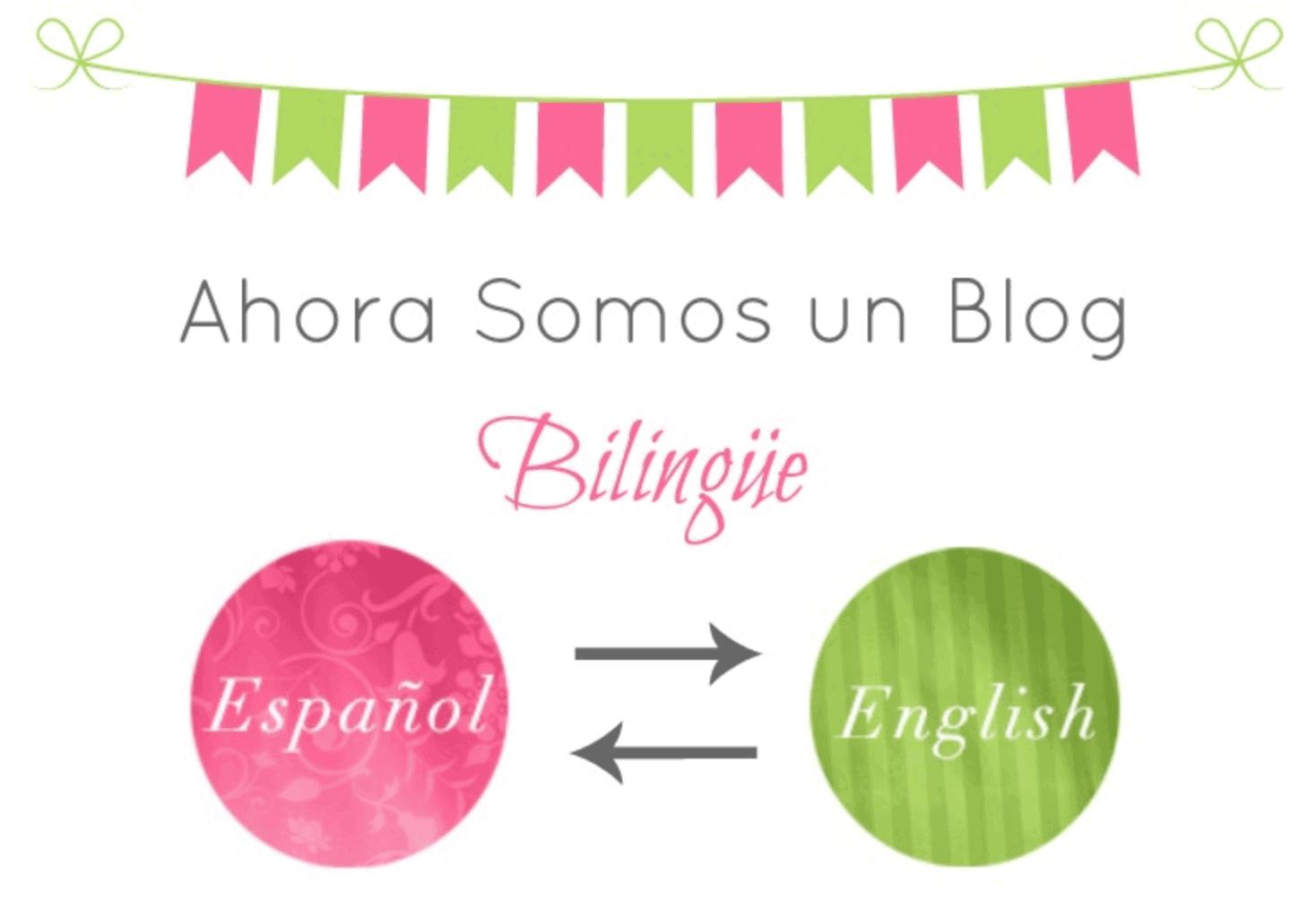 Ahora somos un blog bilingue