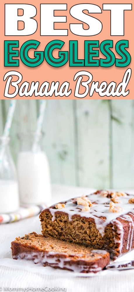 BEST Eggless Banana Bread | Mommy's Home Cooking