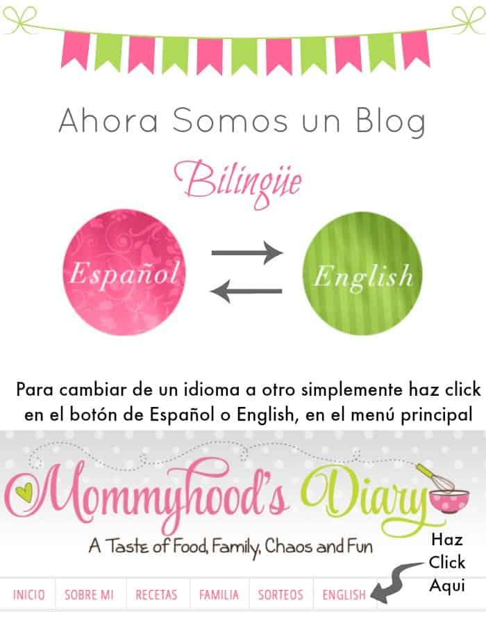 Ahora somo un blog bilingue