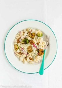 Brussel Sprout Pasta Salad | Mommyhood's Diary