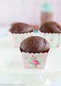Chocolate Zucchini Cupcake   mommyshomecooking.com