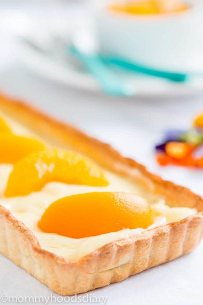 Moscato Peach Tart - Mommyhood's Diary