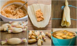 Step by Step How to Make Tamales