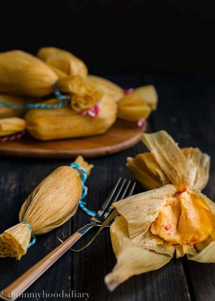 Venezuelan Pepper Tamale | mommyshomecooking.com