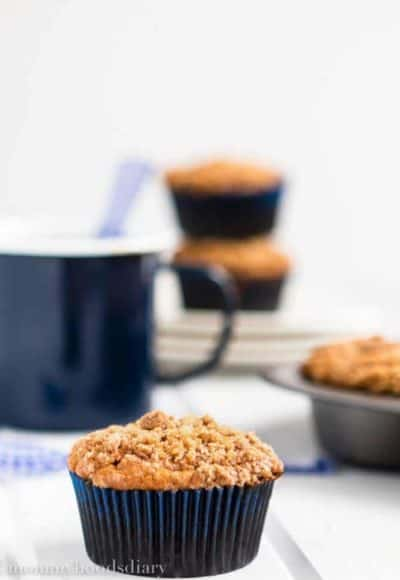 Eggless Banana Crumb Muffins | Mommy's Home Cooking