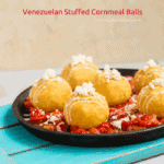 Venezuelan Stuffed Cornmeal Balls | mommyshomecooking.com