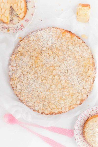 Torta de Almendras y Limón