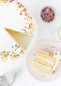 Eggless Vanilla Cake Recipe | Mommy's Home Cooking