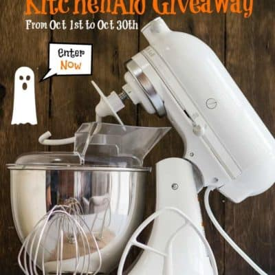KitchenAid Giveaway Halloween Edition