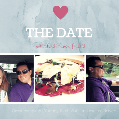 Date Night with Ford Fusion Hybrid