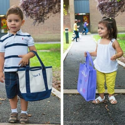 My Little Ones and Their First Month at Preschool