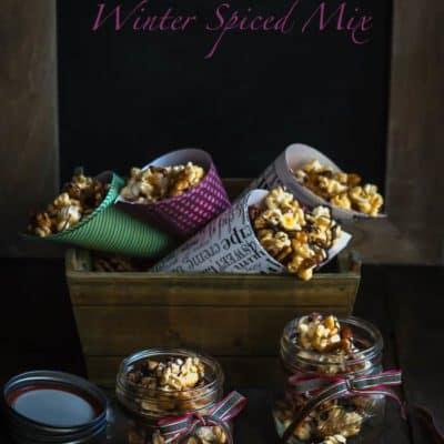 Crunchy Munchy Winter Spiced Mix | Mommyhood's Diary