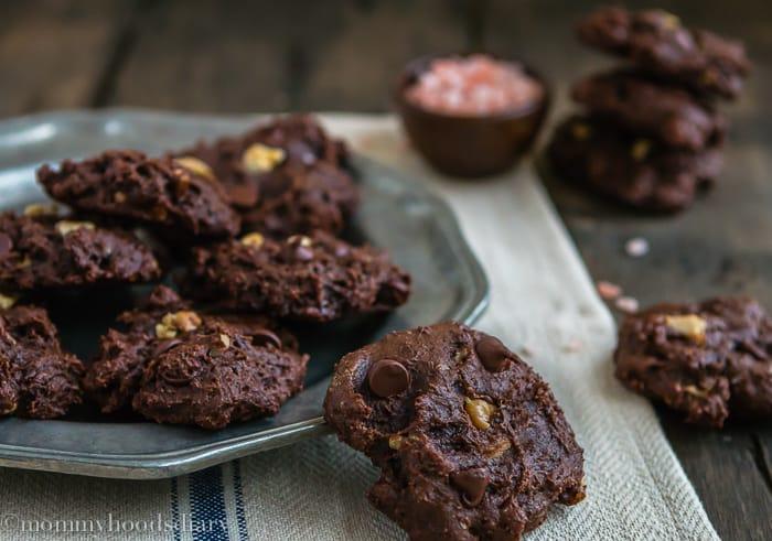 Doble Chocolate Chunk Walnut Cookies-3
