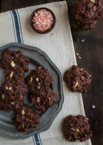 Double Chocolate Chunk Walnut Cookies | Mommyhood's Diary