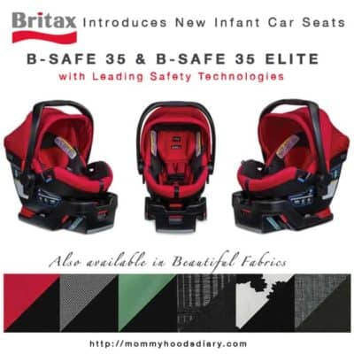 Britax Introduces New Infant Car Seats: B-Safe 35 {Giveaway}