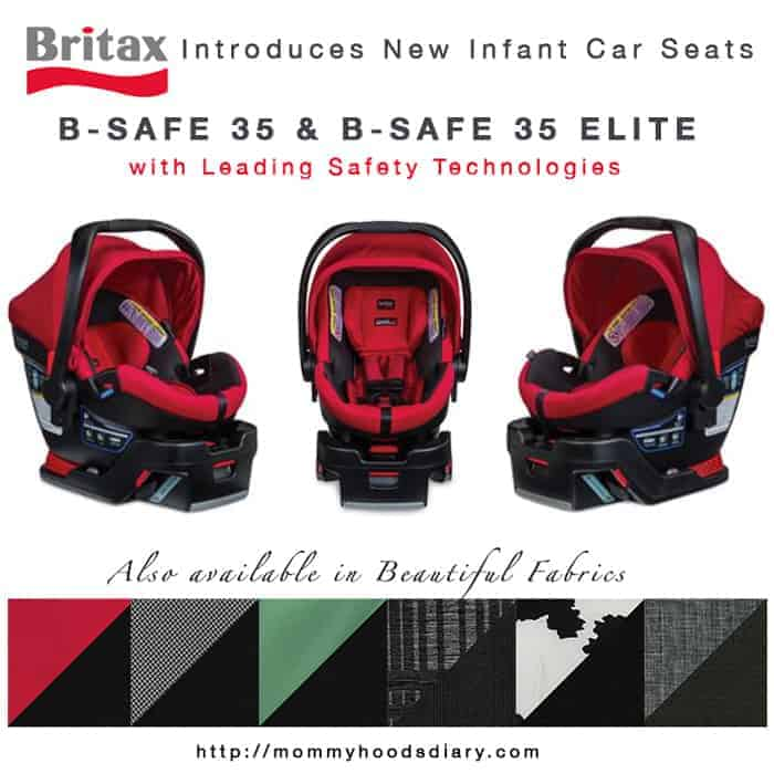 Britax Introduces New Infant Car Seats: B-Safe 35 | Mommyhood's Diary