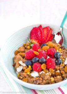 Quinoa Breakfast Bowl | Mommyhood's Diary