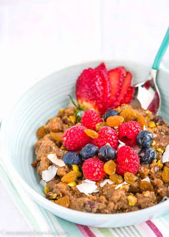 Quinoa Breakfast Bowl | Mommyhood's Diary
