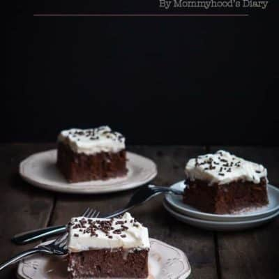 Chocolate Tres Leches Cake | Mommyhood's Diary