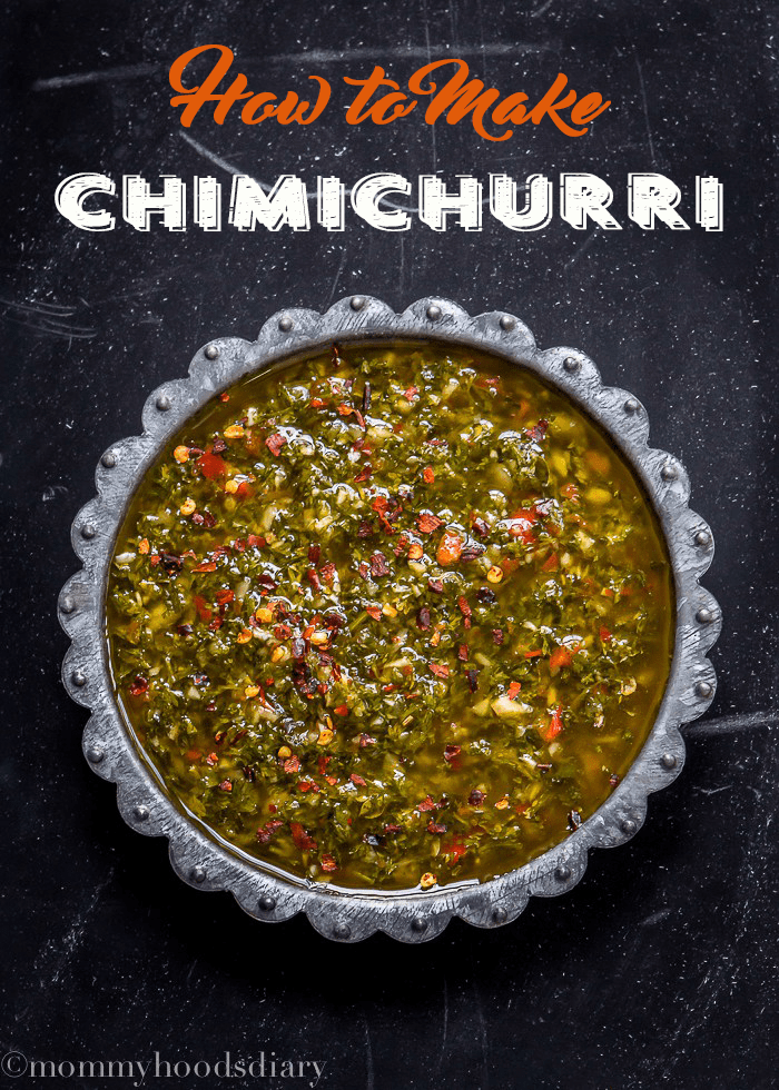 How to Make Chimichurri Sauce