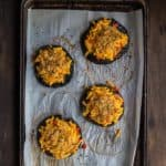 Macaroni and Cheese Stuffed Portobello Mushrooms | Mommyhood's Diary.