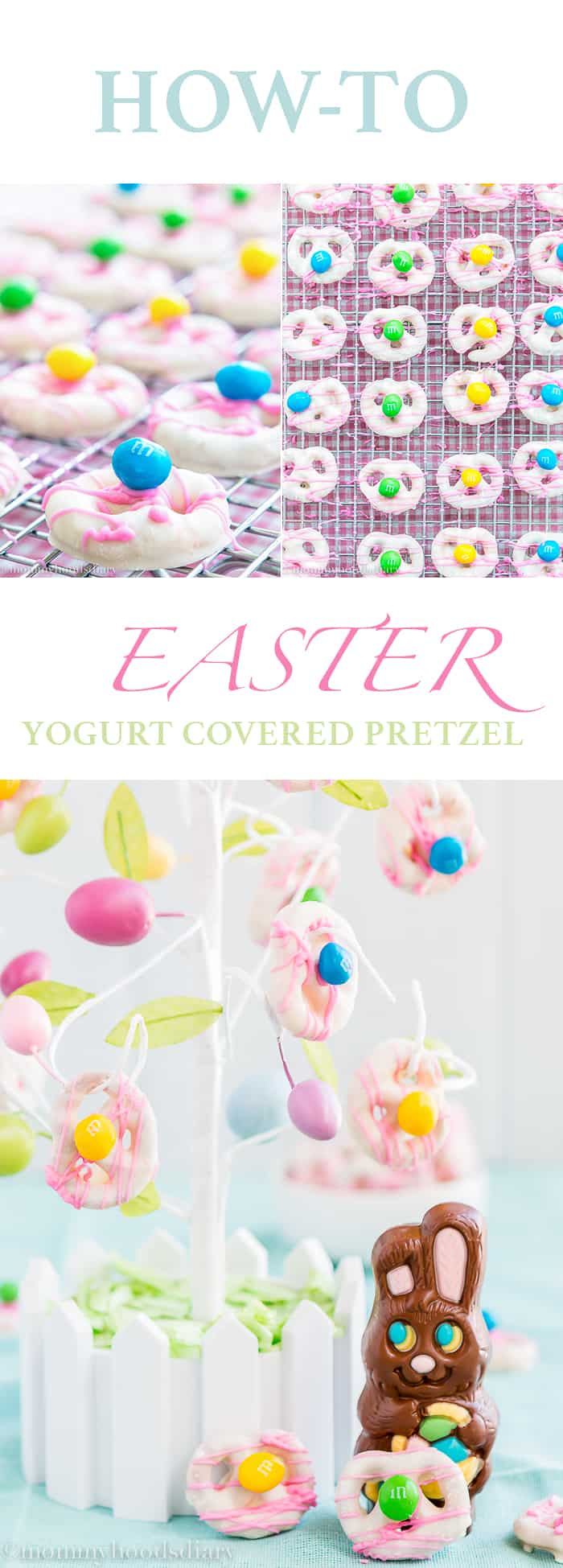 How To Easter Yogurt Covered Pretzels | Mommyhood's Diary