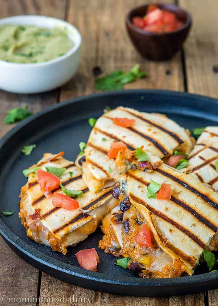 Cheesy Quinoa Quesadillas | Mommyhood's Diary