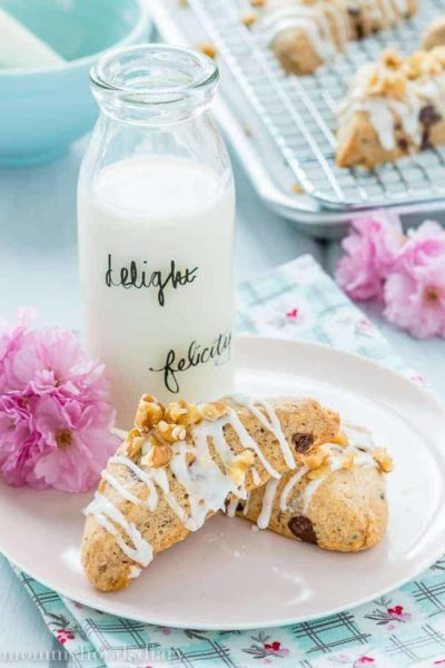 Eggless Chocolate Chip Scones   Mommyhood's Diary
