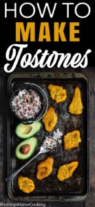 how to make tostones with descriptive text