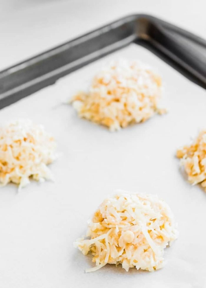 How to make Eggless Coconut Macaroons step 2