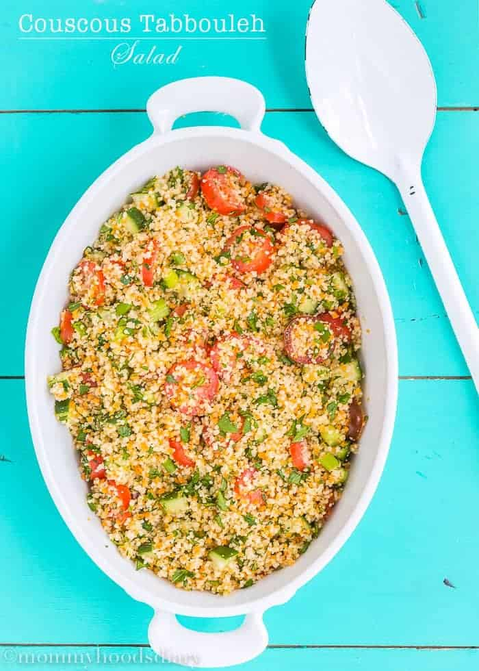 Couscous Tabbouleh Salad | Mommyhood's Diary