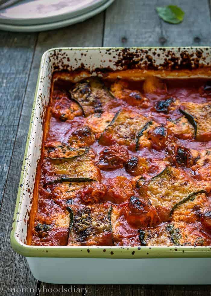 Lasagna Zucchini Rolls-11