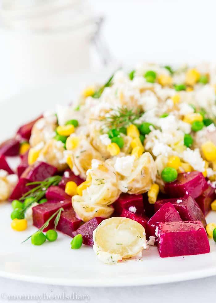 Potato and Beet Salad-2