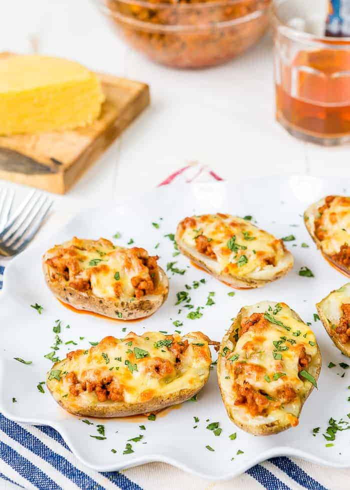 Pork-Chorizo Potato Skins-3