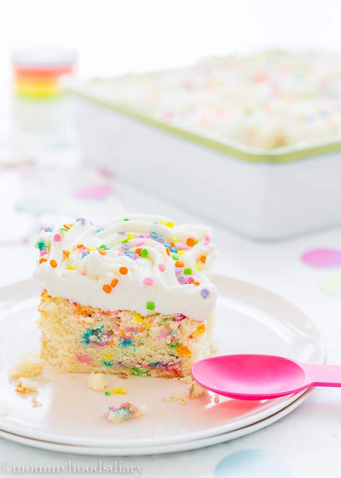 Eggless Congetti Cake-14