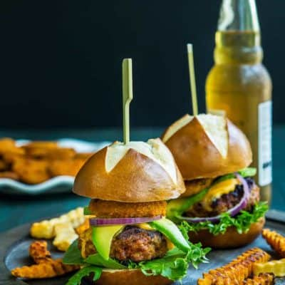 Pork Chorizo Sliders with Eggless Chipotle Mayo