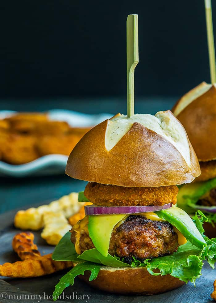 Pork Chorizo Sliders with Eggless Chipotle Mayo -4