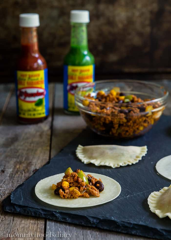 Hot to make Mini Spicy Pork Chorizo Empanadas