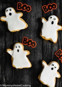 3-Ingredient Eggless Peanut Butter Halloween Cookies