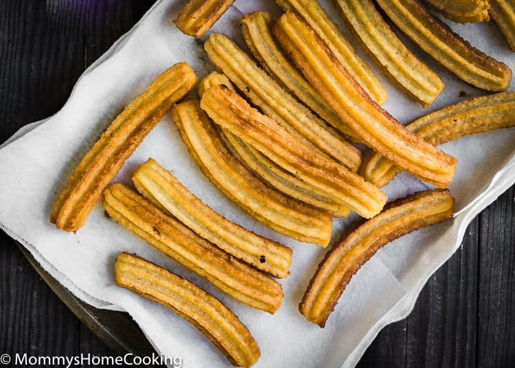 How to make eggless churros from scratch