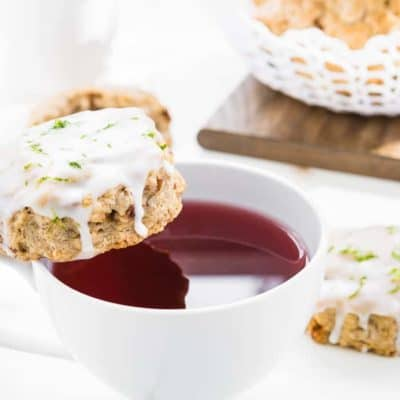 Eggless Gingerbread Scones
