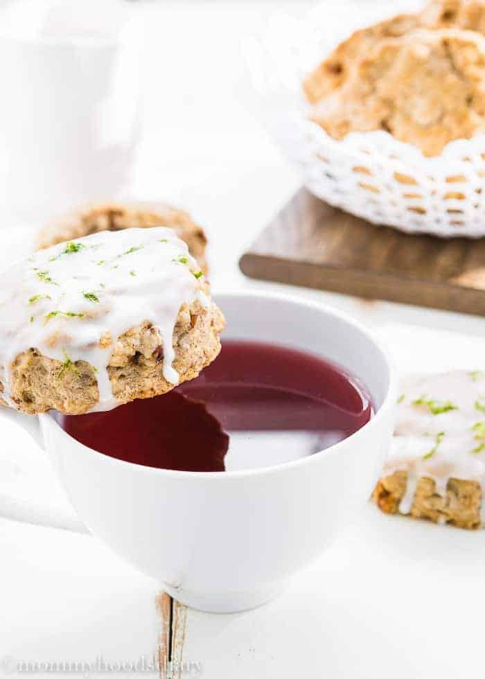 Eggless Gingerbread Scones-6