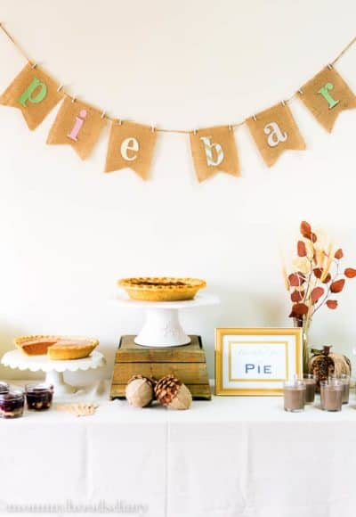 Pie Dessert Table Ideas | Mommyhood's Diary